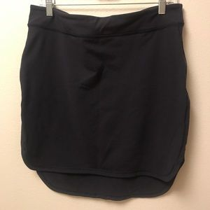 lululemon low high bodycon skirt